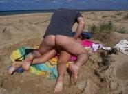 Sodomie sur la serviette - Couple naturiste